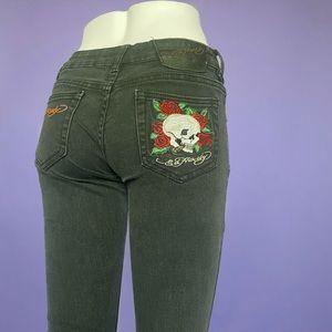 Ed Hardy Y2K Skull Jeans